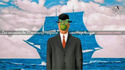 Les vacances de Monsieur Magritte au Pays Basque